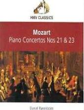 MOZART: PIANO CONCERTOS 21 & 23 ETC / ECO / DANIEL BARENBOIM – HMV CD (2005)