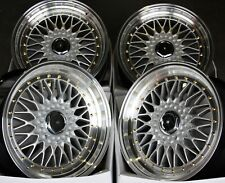 "17"" SPL RS GR ALLOY WHEELS FIT AUDI 80 100 SAAB 900 9000 VOLVO 850 MAZDA 2 4X108"