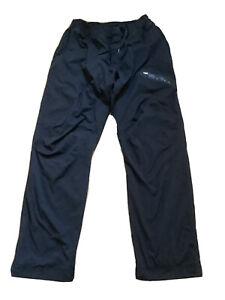 lululemon mens track jogger pants size XL black- lined - dance studio pants