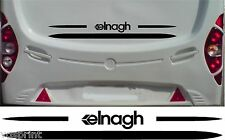 ELNAGH CARAVAN/MOTORHOME 2 PIECE KIT DECALS STICKER CHOICE OF COLOUR & SIZE #3