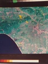 NASA LANDSAT-4 THEMATIC Mapper IMAGE OF Los Angeles Nov.24th 1982 Photo 8 x 10""