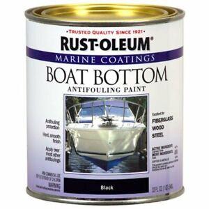 Rust-Oleum Marine Boat Bottom Antifouling Paint- Quart