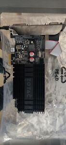 ZOTAC GeForce GT 710 1GB GDDR3 Graphics Card (ZT7130420L)