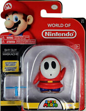 World of Nintendo ~ SHY GUY (WAVE 13) ACTION FIGURE ~ Super Mario Bros.