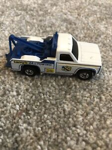Hot Wheels 1970s Larry's 24 Hour Towing Chevy Tow Truck Hong Kong