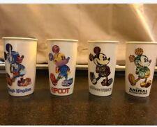 Disney Parks Starbucks Exclusive Ceramic TumblersComplete Set of 4