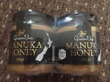 TWIN PACK 2 X QUEEN BEE MANUKA HONEY 100+ METHYLGLYOXAL 340G (EXP.19/09/2019)