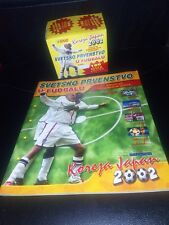 ***RARE WORLD CUP KOREA JAPAN 2002  FULL BOX WITH 100 SEALED PACKS + EMPTY ALBUM