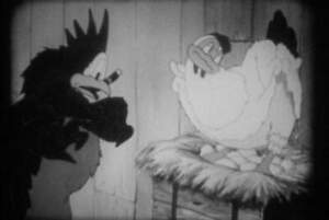 16MM FILM - THE ORPHAN DUCK - 1939