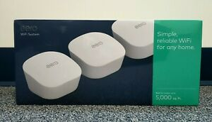 Amazon Eero Mesh Wi-Fi Network System Router (3-Pack) Whole Home Coverage (New)