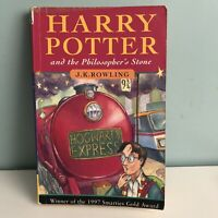 Harry Potter And The Philosopher's Stone PB Book Rare First Edition 38th Print