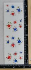 Mrs Grossman TWINKLE STARS REFLECTIONS Stickers RED, WHITE, & BLUE