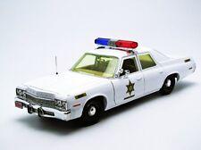 DUKES OF HAZZARD ROSCO P COLTRANE DIECAST DODGE MONACO POLICE PATROL CAR TOY