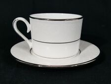 New Lenox Fine Bone China Venetian Lace Tea Cup and Saucer
