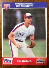 1992 Tim Wallach Diet Pepsi Series - #22 Of 30 - Montreal Expos (CDN Version)