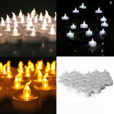 12 x Flameless LED Candle Battery Operated Tea Light Flickering Xmas Celebration