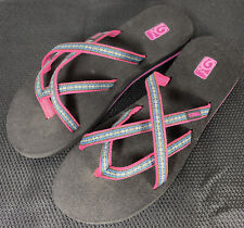Teva Mush Strappy Sandals Women's Size 11 Pink