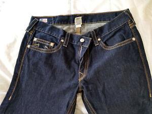 TRUE RELIGION Section Bobby QT Men's Jeans - Blue SZ 36