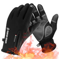 Ski Gloves Winter Warm Thermal Windproof Waterproof Cycling Driving Mittens USA