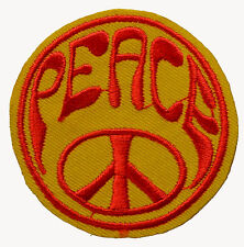 Peace Iron On Patch cnd alternative retro jacket denim emo patches hippy hippies