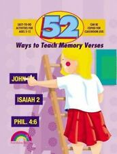 52 Ways to Teach Memory Verses: Easy-to-Do Activities for Ages 2-12, Williamson,
