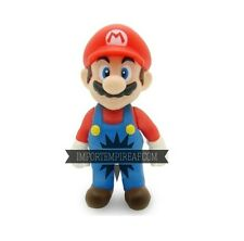 SUPER MARIO BROS. ACTION FIGURE snodabile new 3ds wii u galaxy 2 party statuetta