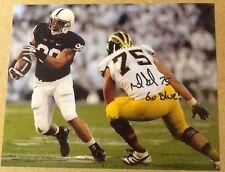 Michael Schofield Signed 8x10 Football Photo W / COA  Michigan