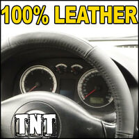 LEATHER Steering Wheel Cover Ford Focus Fiesta Transit Mondeo Ka