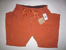 $188 NWD AG Adriano Goldschmied Paper Bag Crop Sulfur Orange Women's 29