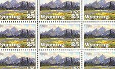 1990 - WYOMING STATEHOOD - #2444 Mint -MNH- Sheet of 50 Postage Stamps