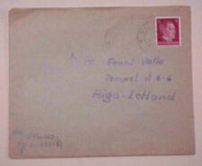 GERMAN  OSTLAND RIGA  KILTSI 1942 TO RIGA