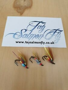 Trio Of Doctor Salmon Flies Size 10 Double Hook NEW