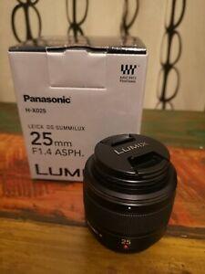 Obiettivo Micro 4:3 - PANASONIC LEICA DG SUMMILUX 25mm f/1.4