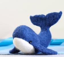 Whale Needle Felting Kit - Craft Kit for Beginners