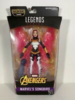 "Marvel Legends Avengers Songbird Infinity War 6"" Action Figure (BAF THANOS)"