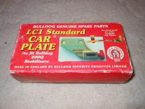 bulldog caravan towing car plate standard LC1 BNIB for 200Q stabiliser