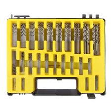 170PCS High Speed Steel Kawasaki Drill Bits Set 0.4-3.2mm Multi-Bit with Case