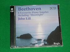 SIX PIANO SONATAS INC. MOONLIGHT 2CD SET - BEETHOVEN CD (JOHN LILL)