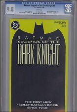 Legends of the Dark Knight 1 CGC 9.8 1990 DC Batman Yellow-green Cover Comic: