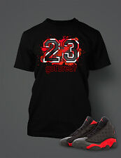 23 Got Bred Tee Shirt to Match Retro Air Jordan 13 Shoe Mens Graphic  T Shirt