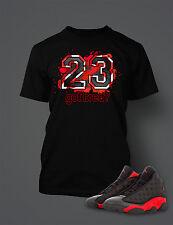 23 Got Bred Tee Shirt to Match Retro Air Jordan 13 Shoe Mens Graphic T Shirt 2a72a428f93
