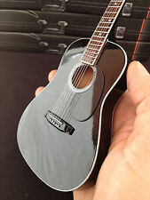 Johnny Cash Black Acoustic Miniature Guitar - Free Shipping within US