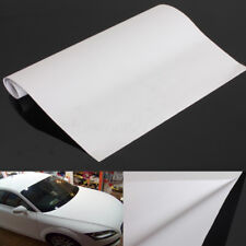 Matte White Flat Vinyl Film Wrap Sticker Decal Bubble Air Release 150cm*30cm DIY