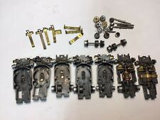 Vintage Aurora Xlerators Type 1 & 2 Chassis W/ Many Parts Restore Or Parts