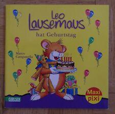 MAXI PIXI Leo Lesemaus hat Geburtstag Carlsen Verlag