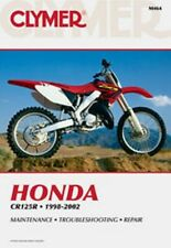 Clymer Repair Service Shop Manual Vintage Honda CR125R 98-02