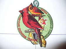 OA Tipisa Lodge 326,2014 Ordeal,Beautiful Cardinal Bird,pp,Central Florida Cl,FL