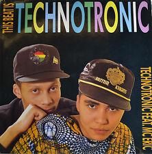 "TECHNOTRONIC feat.mc Eric - BEAT IS TECHNOTRONIC 12 "" Maxi LP (R171)"