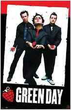 """Green Day Heart Poster 2004  Poster 24X36"""" Inch"""