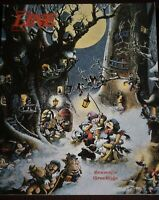 Disneyland Hank Porter Illustration Cover 1938 1989 Walt Disney Christmas Issue